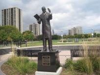 Dunbar statue