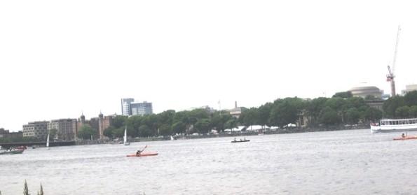 Kayacking on the Charles- 2